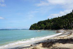 White Beach en Port Barton paz y tranquilidad