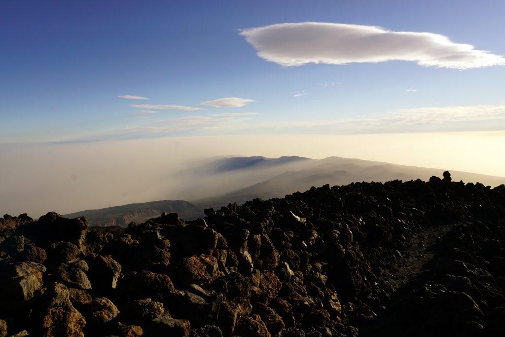 Descenso del Teide