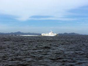 Para llegar a Coron, nosotros cogimos un Ferry rápido