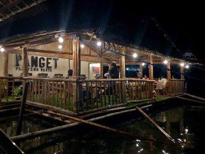 Restaurante flotante Panget en Coron
