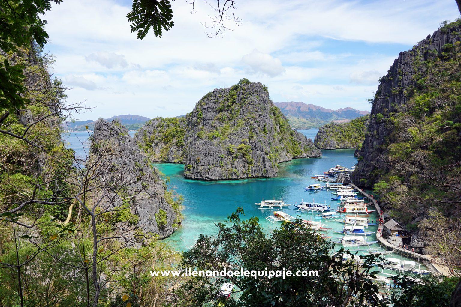 Coron, la famosa postal de Filipinas