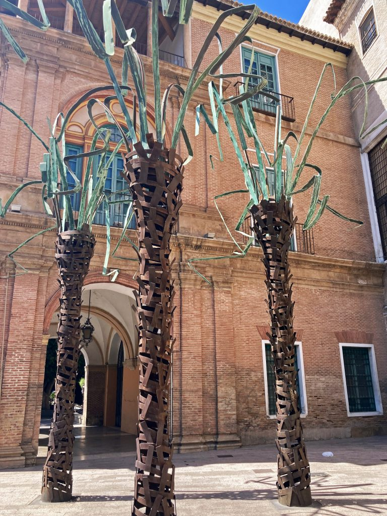 Ver en Murcia: palmeras