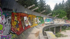 Parque olímpico Bobsleigh